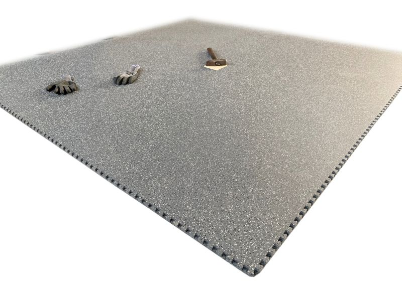Design rubber mat HEAT